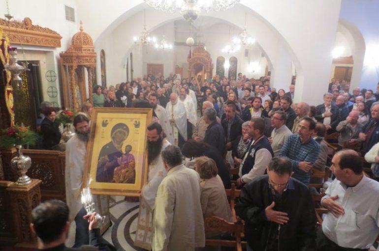Η Παναγία Πορταΐτισσα στον Άγιο Δημήτριο Αττικής (ΦΩΤΟ)