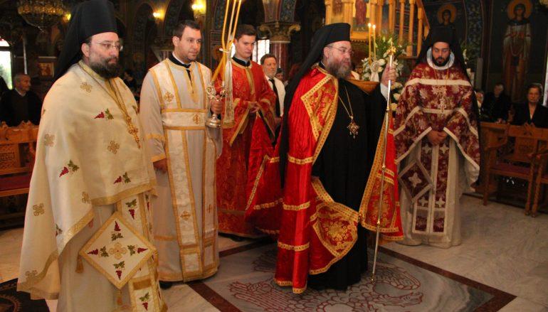 Μνημόσυνο του Αρχιεπισκόπου Αθηνών Χρυσοστόμου Α' στην Αγ. Μαρίνα Ηλιούπολης (ΦΩΤΟ)