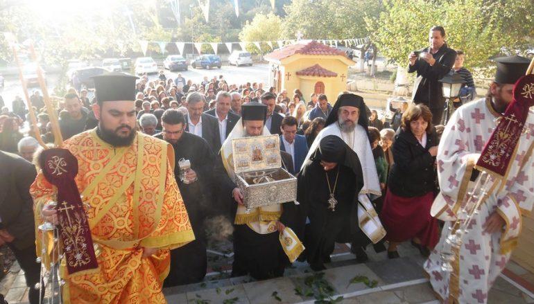 Η Κάρα του Αγίου Νικολάου εν Βουνένοις επέστρεψε στην έδρα του (ΦΩΤΟ)