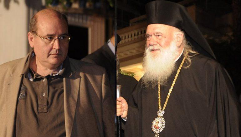 """Φίλης: """"Είναι σίγουρο ότι ο κόσμος της Αριστεράς θέλει διαχωρισμό Εκκλησίας-Κράτους"""""""