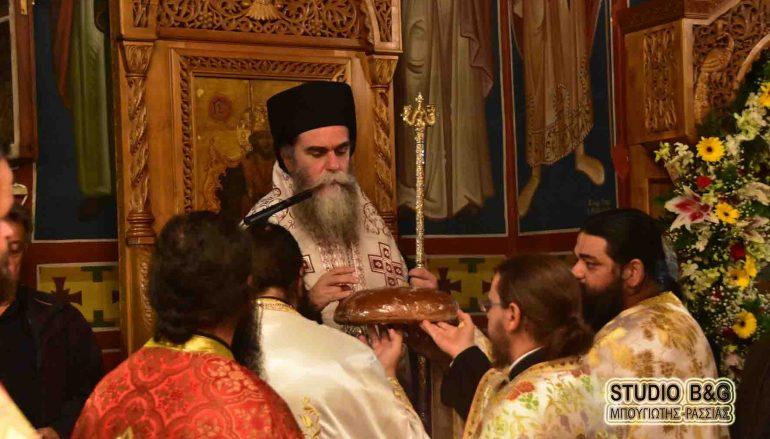 Ο Μητροπολίτης Άρτης στην Ι. Μ. Αγίου Δημητρίου Καρακαλά Ναυπλίου (ΦΩΤΟ-ΒΙΝΤΕΟ)