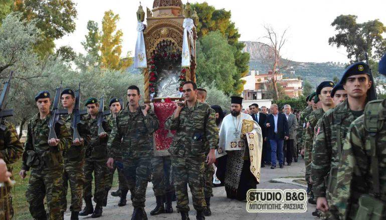 Τον Άγιο Δημήτριο τίμησε το Στρατόπεδο του Μηχανικού (ΚΕΜΧ) Ναυπλίου (ΦΩΤΟ-ΒΙΝΤΕΟ)