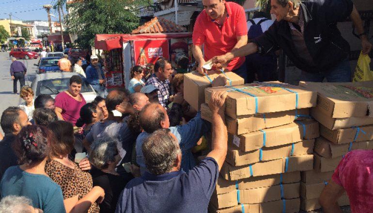 Η «Αποστολή» στηρίζει 2182 οικογένειες στη Θράκη, τη Λέσβο και τη Λήμνο (ΦΩΤΟ)
