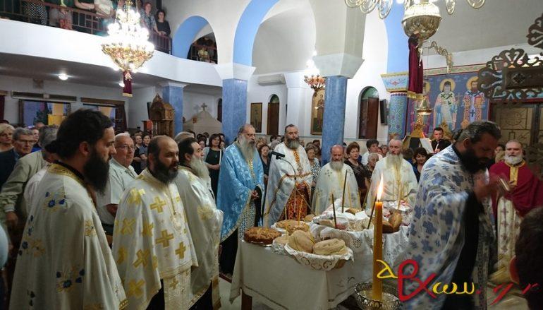 Πανηγυρικός εσπερινός του Αποστόλου Θωμά στο Αγρίνιο (ΦΩΤΟ)