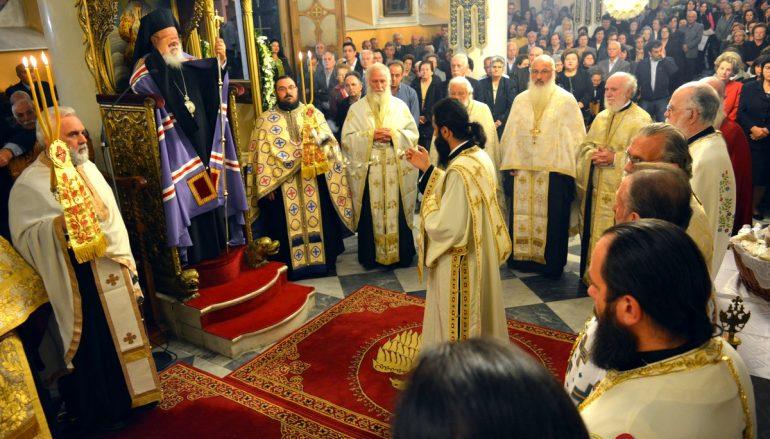Πανηγυρικός Αρχιερατικός Εσπερινός στον Άγιο Δημήτριο Τρίπολης (ΦΩΤΟ)