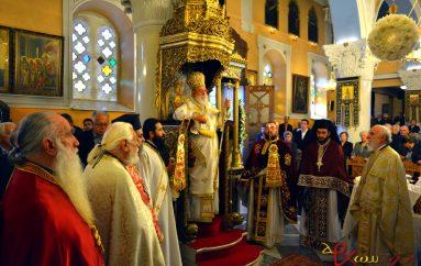 Αρχιερατική Θεία Λειτουργία στον Άγιο Δημήτριο Τρίπολης (ΦΩΤΟ)