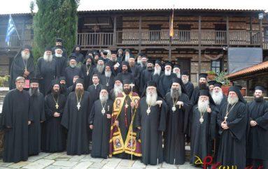 Ενθρόνιση Καθηγουμένου στην Ιερά Μονή Ζάβορδας (ΦΩΤΟ)