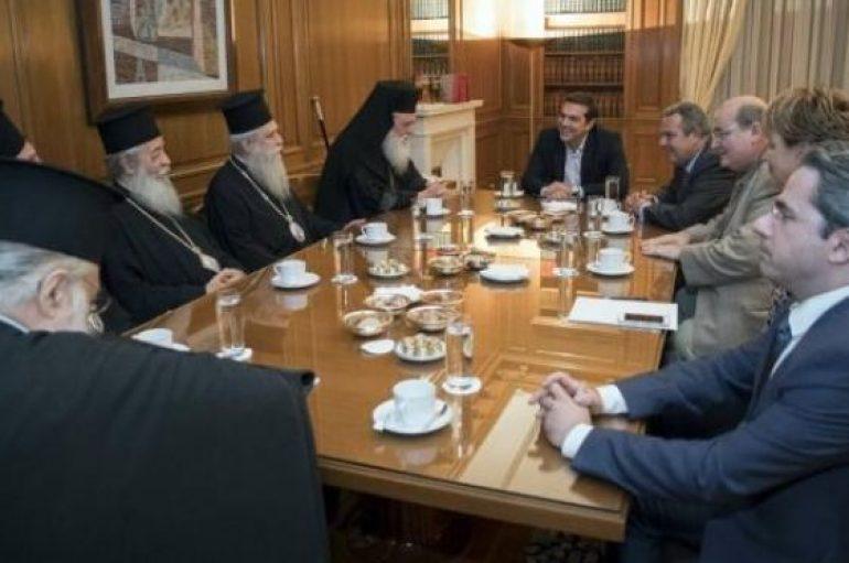 """Μητροπολίτης Φθιώτιδος: """"Σε καλό κλίμα η συνάντηση της ιεραρχίας με τον Πρωθυπουργό"""" (ΒΙΝΤΕΟ)"""