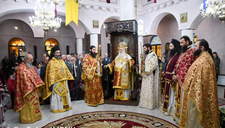 Πανηγύρισε ο Ι. Ν. Αγίου Δημητρίου Ναούσης (ΦΩΤΟ)