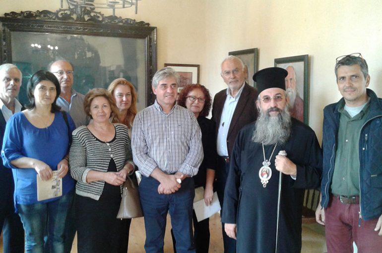 Εγκαίνια της νέας Πινακοθήκης της Ι. Μονής Αρκαδίου (ΦΩΤΟ)