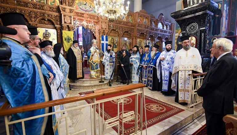 Ο Πρόεδρος της Δημοκρατίας στην 104η επέτειο απελευθέρωσης της Χαλάστρας (ΦΩΤΟ)