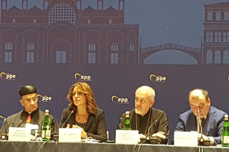 Ο Μητροπολίτης Γαλλίας στο Διεθνές Συνέδριο του Ευρωπαϊκού Κόμματος (ΦΩΤΟ)