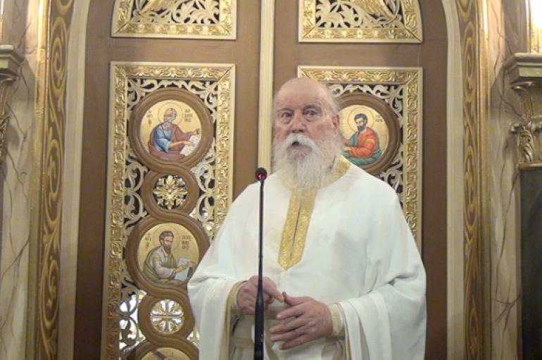 """Αρχιμ. Δανιήλ Αεράκης: """"Τιμάμε την Παναγία, αλλά δεν την υποτιμάμε ούτε την υπερτιμάμε"""" (ΒΙΝΤΕΟ)"""
