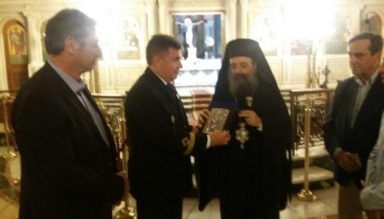 Προσκύνημα Ρώσων Ναυτικών στον Άγιο Ανδρέα Πατρών (ΦΩΤΟ)
