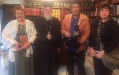 Συνέντευξη του Μητροπολίτη Κερκύρας στο Ρωσικό κανάλι СОЮЗ (ΦΩΤΟ)