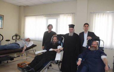 Εθελοντική Αιμοδοσία από την Ι.Μ. Κερκύρας (ΦΩΤΟ)