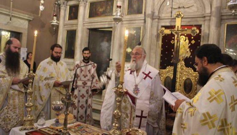 Η Θ. Λειτουργία του Αγίου Ιακώβου του Αδελφοθέου στην Ι. Μ. Κερκύρας (ΦΩΤΟ)