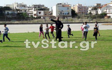 Ψυχαγωγία παιδιών κατηχητικού σε ενορία της Λαμίας (ΦΩΤΟ-ΒΙΝΤΕΟ)