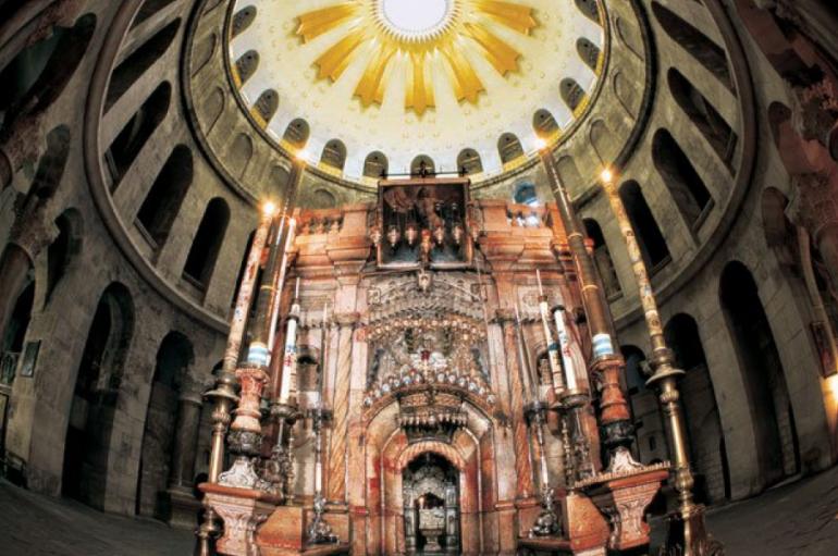 Δεύτερη παρουσίαση του έργου αποκαταστάσεως του Ιερού Κουβουκλίου