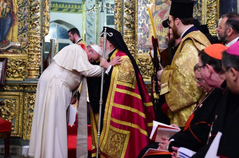 Το μήνυμα του Πάπα Φραγκίσκου προς τον Οικ. Πατριάρχη