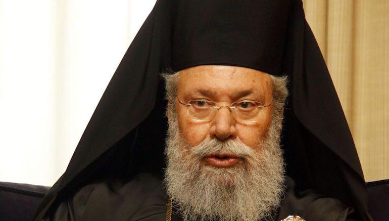Αρχιεπίσκοπος Κύπρου: «Δεν μπορεί το 18% να προεδρεύει του 82%»