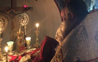 Θεία Λειτουργία στο χαλανδρινό μετόχιο της Ι.Μ. Εσφιγμένου (ΦΩΤΟ)