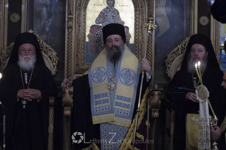 Πολυαρχιερατικός Εσπερινός στον Ι. Ν. Αγίου Ιωάννη Χρυσοστόμου Λουκά Μαντινείας (ΦΩΤΟ)