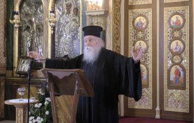 Αρχιμ. Δανιήλ Αεράκης: «Ο Χριστός είναι ο αξιέραστος και ο αξεπέραστος» (BINTEO)