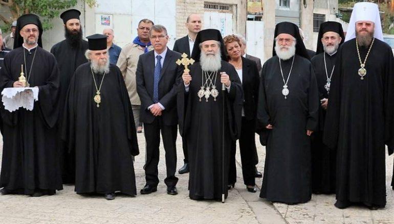 Η εορτή της Ανακομιδής των λειψάνων του Αγ. Γεωργίου του Τροπαιοφόρου στη Λύδδα (ΦΩΤΟ-ΒΙΝΤΕΟ)