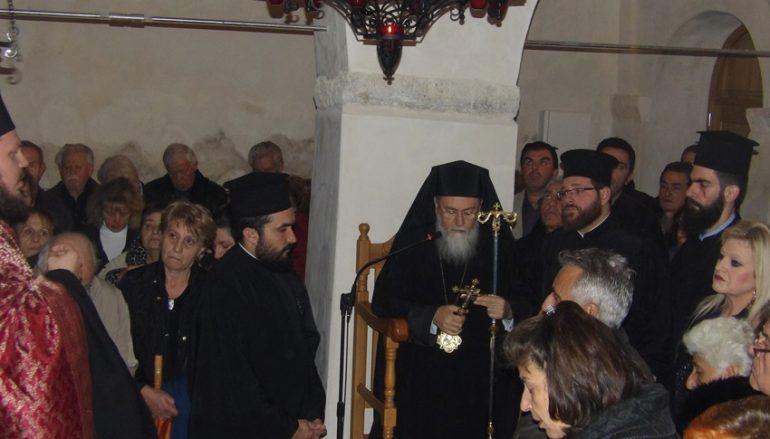 Εσπερινός του Αγίου Ανδρέου στην Ι. Μ. Κορίνθου (ΦΩΤΟ)
