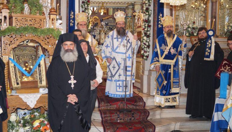Τα Ελευθέρια της Χίου παρουσία της Παναγίας Σουμελά (ΦΩΤΟ-ΒΙΝΤΕΟ)