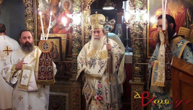 Πατριαρχική Θ. Λειτουργία του Αγ. Ιακώβου του Αδελφοθέου στα Ιεροσόλυμα (ΦΩΤΟ)