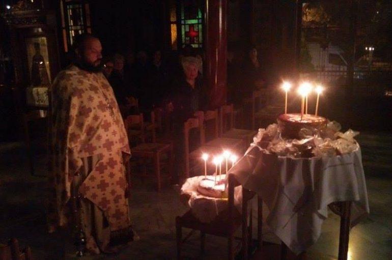 Ιερά Αγρυπνία στο Στρατιωτικό Ι. Ναό Αγ. Κοσμά Τρίπολης (ΦΩΤΟ)