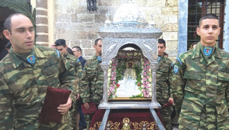 Η Ρόδος τίμησε τον Πολιούχο της Αγ. Κωνσταντίνο τον Υδραίο (ΦΩΤΟ)