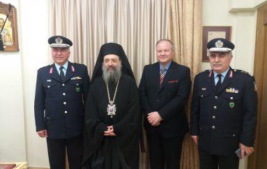 Ο Αρχηγός της Ελληνικής Αστυνομίας στον Μητροπολίτη Πάτρων (ΦΩΤΟ)