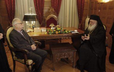 Η πρώτη επίσημη συνάντηση Αρχιεπισκόπου με τον υπουργό Παιδείας (ΦΩΤΟ)