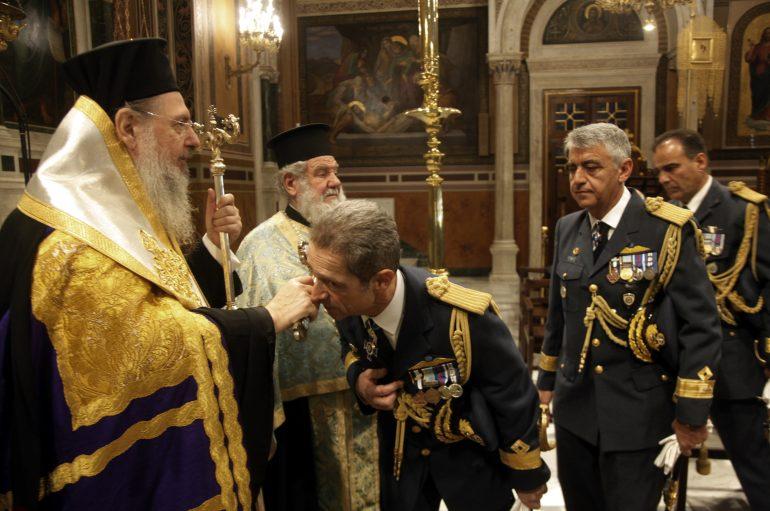 Δοξολογία για την εορτή των Ενόπλων Δυνάμεων στον Μητροπολιτικό Ναό Αθηνών (ΦΩΤΟ)