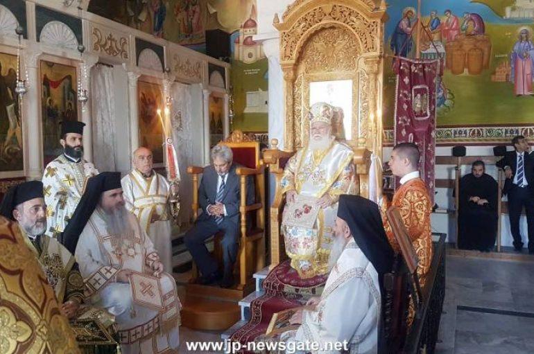 Η εορτή των Αγίων Αρχαγγέλων στο Πατριαρχείο Ιεροσολύμων (ΦΩΤΟ-ΒΙΝΤΕΟ)