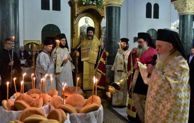 Αρχιερατικός Εσπερινός της εορτής του Αγίου Νεκταρίου στην Ι. Μ. Λαγκαδά (ΦΩΤΟ)