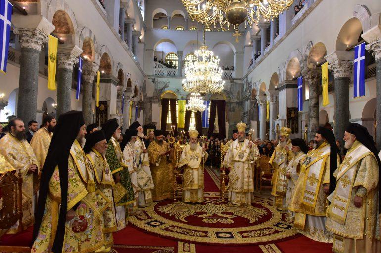 Πατριαρχική Θεία Λειτουργία στον Ι. Ναό Αγίου Δημητρίου Θεσσαλονίκης (ΦΩΤΟ)
