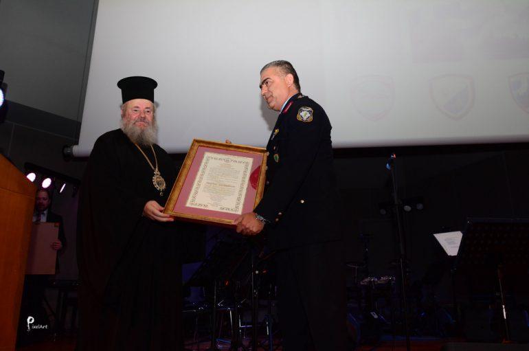 Ο Μητροπολίτης Κυδωνίας τίμησε τους διοικητές μονάδων (ΦΩΤΟ)
