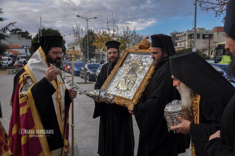Η Κομοτηνή υποδέχθηκε την Εικόνα της Παναγίας Παναχράντου και την Τίμια Κάρα του Αγ. Παντελεήμονος (ΦΩΤΟ)
