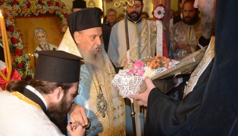 Υποδοχή της Τίμιας Κάρας του Αγίου Νικηφόρου στην Λάρισα (ΦΩΤΟ)