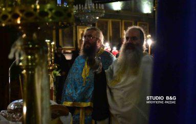 Αγρυπνία για τον Άγιο Αρσένιο στο Ναύπλιο (ΦΩΤΟ)