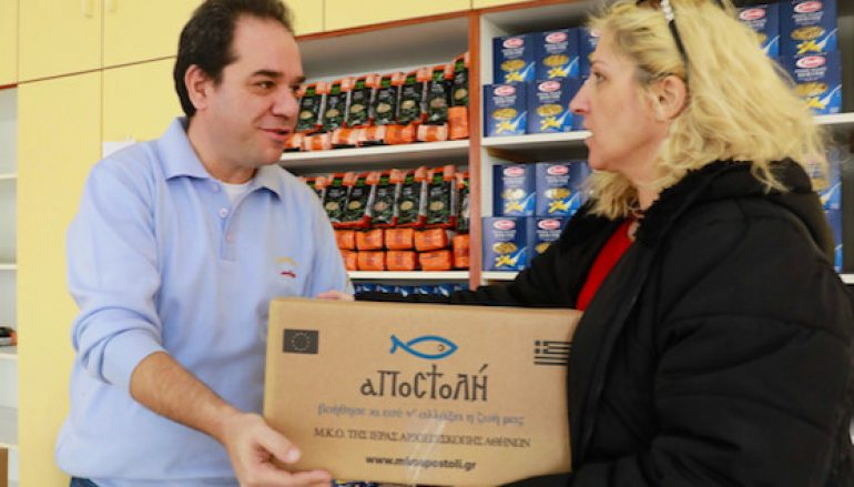 Η «Αποστολή» συνεχίζει να στηρίζει οικογένειες στη Λέσβο και στη Χίο