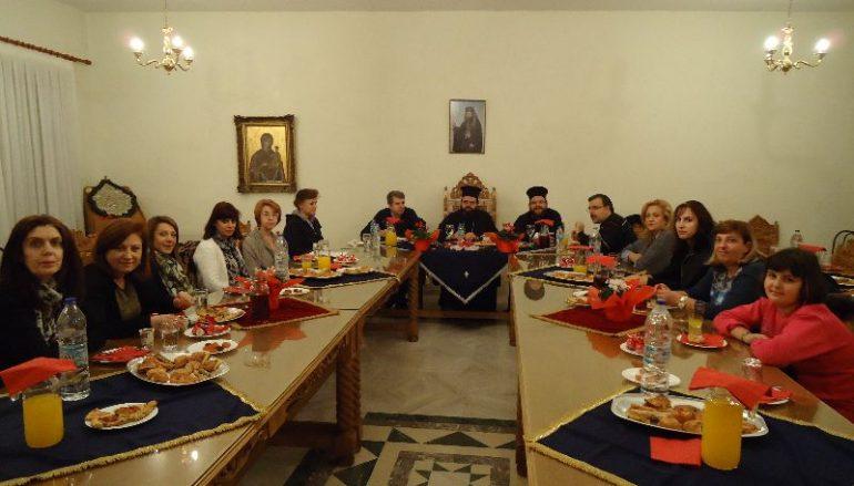 Ο Μητροπολίτης Μαρωνείας συναντήθηκε με το Σύνδεσμο Θεολόγων Ροδόπης