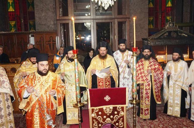 Αγρυπνία επί τη μνήμη του Αγίου Αμφιλοχίου στην Ι. Μ. Θεσσαλιώτιδος (ΦΩΤΟ)
