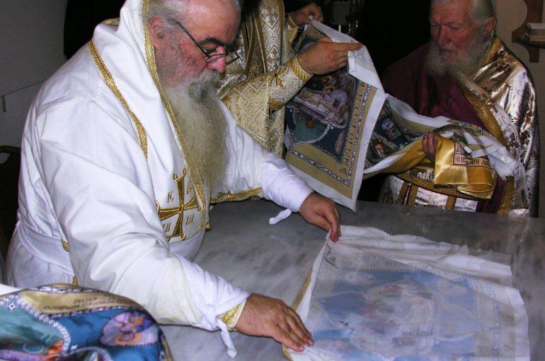 Ακολουθία επί διασαλεύσει Αγίας Τραπέζης από τον Μητροπολίτη Καστορίας (ΦΩΤΟ)