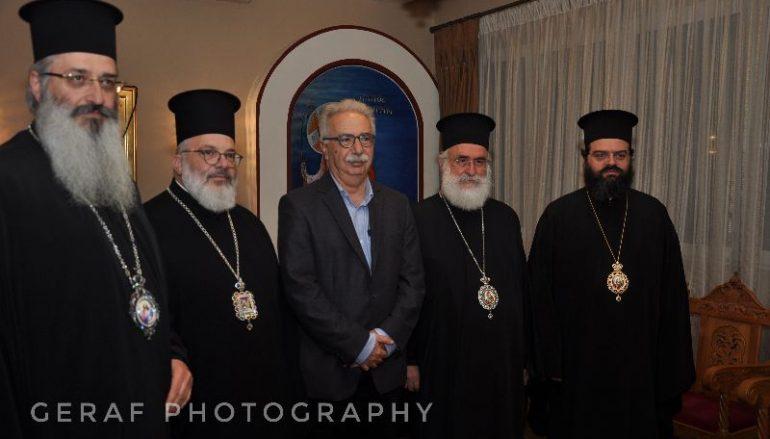 Συνάντηση του Υπουργού Παιδείας με τους Μητροπολίτες της Θράκης