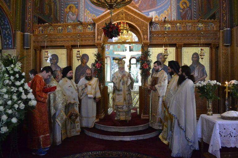 Ο Μητροπολίτης Ηλείας στον Ι. Ναό Αγίας Μαρίνας Ηλιουπόλεως (ΦΩΤΟ)